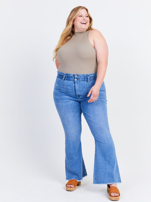 """Ashling 31.5"""" Inseam Jeans Detail 1 - ARULA formerly A'Beautiful Soul"""