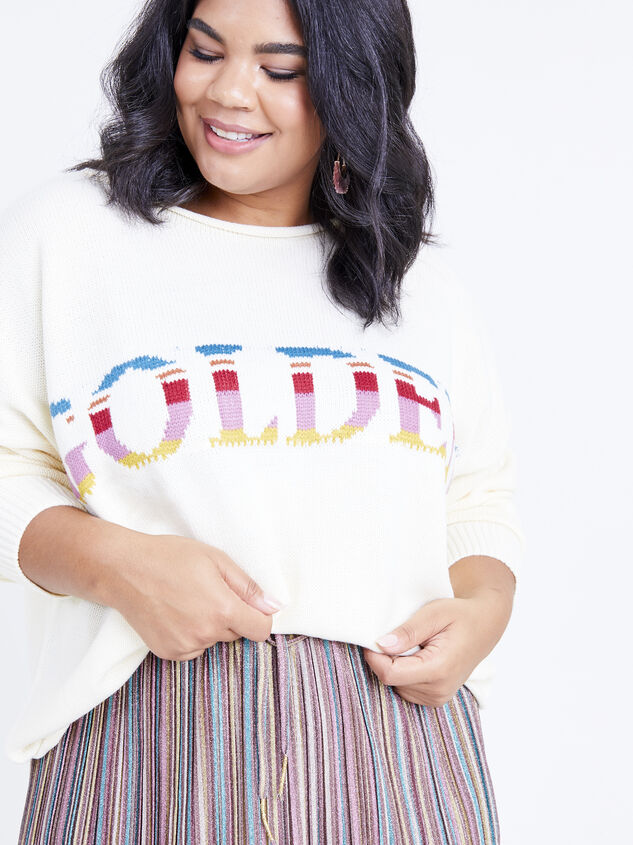 You're So Golden Sweater Detail 4 - ARULA formerly A'Beautiful Soul