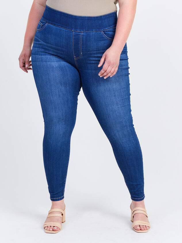 Waist Smoothing Skinny Jeans – Sienna Detail 2 - ARULA formerly A'Beautiful Soul