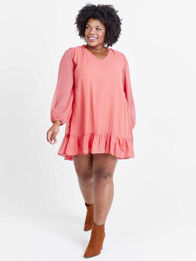Dusty Dress - Coral Detail 5 - ARULA formerly A'Beautiful Soul
