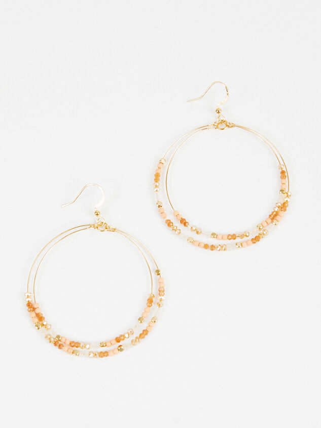 Paola Earrings - Brown Detail 1 - ARULA formerly A'Beautiful Soul