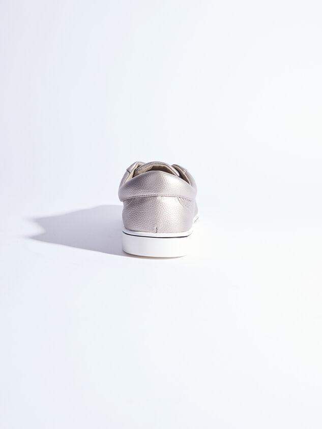 Rery Wide Width Sneakers - Gunmetal Detail 3 - ARULA