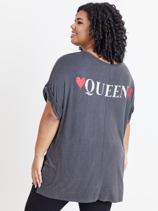 Queen of Hearts Tee Detail 3 - ARULA