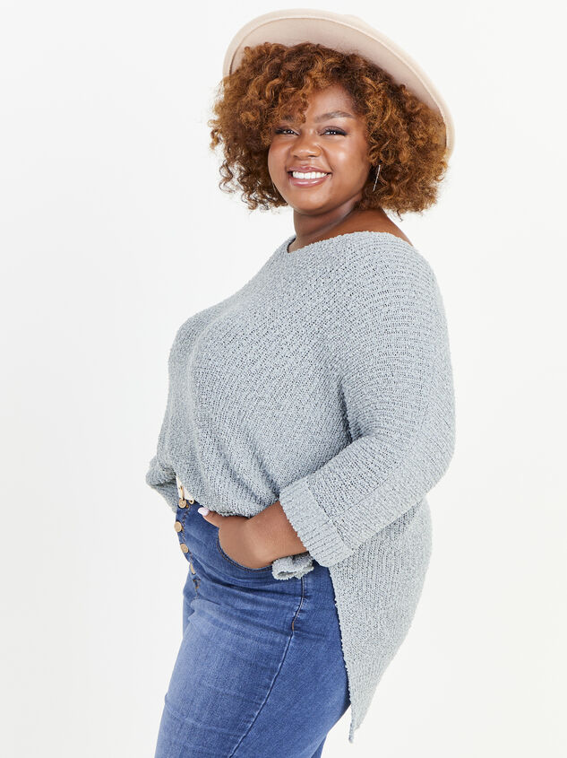 Easy To Love Sweater Detail 2 - ARULA formerly A'Beautiful Soul