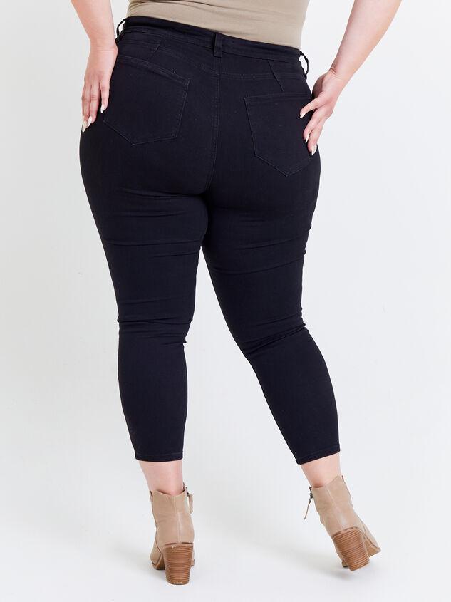 Tatum Curvy Jeans Detail 4 - ARULA formerly A'Beautiful Soul