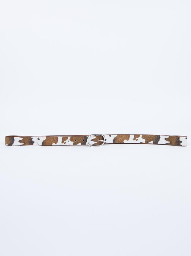 Cow Print Belt Detail 5 - ARULA formerly A'Beautiful Soul