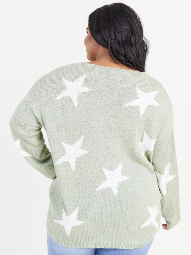 Starry Night Sweater Detail 3 - ARULA formerly A'Beautiful Soul
