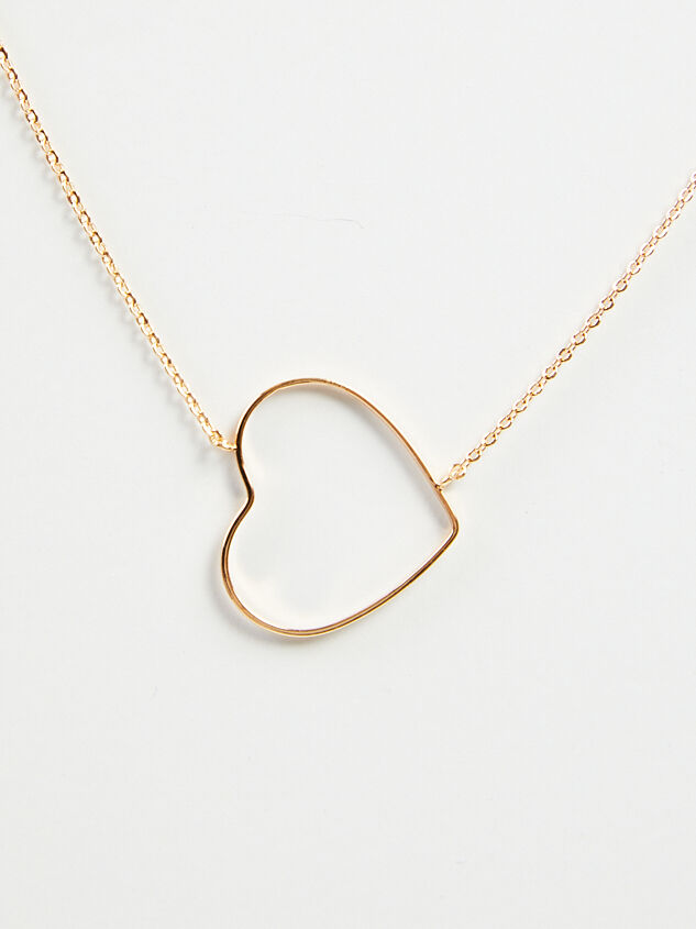 Dainty Heart Necklace - ARULA formerly A'Beautiful Soul