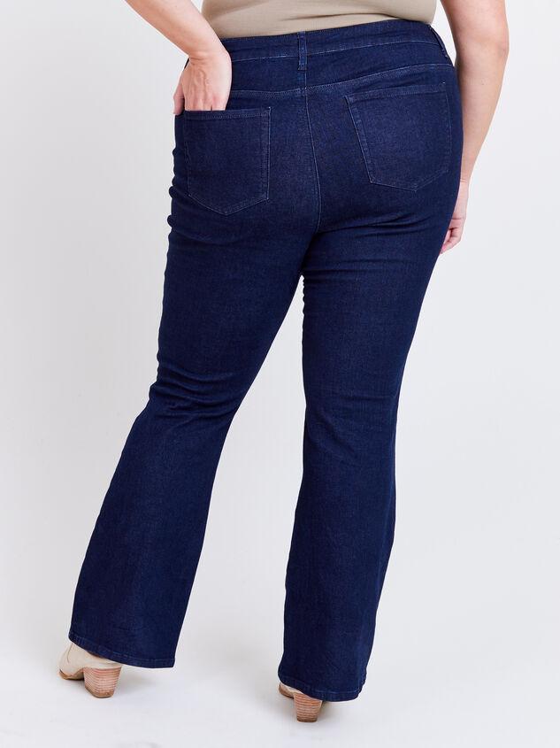 Henley Bootcut Jeans Detail 4 - ARULA