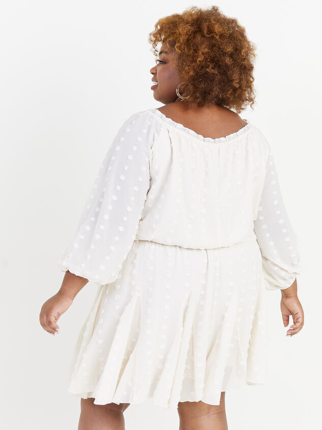 Define Dress - Ivory Detail 3 - ARULA formerly A'Beautiful Soul