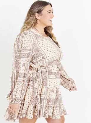Toryn Patchwork Dress - ARULA