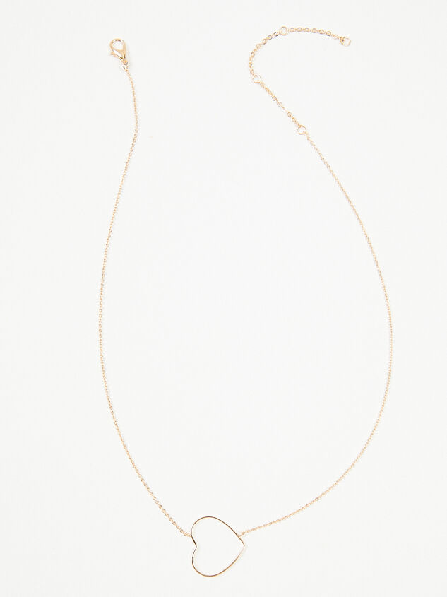Dainty Heart Necklace Detail 3 - ARULA formerly A'Beautiful Soul