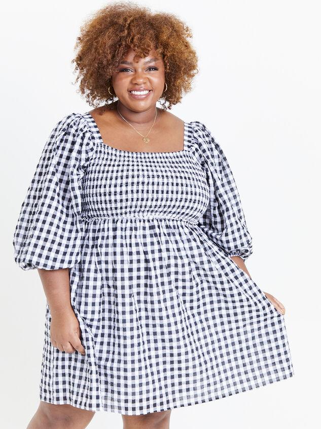 Majorie Gingham Dress - ARULA