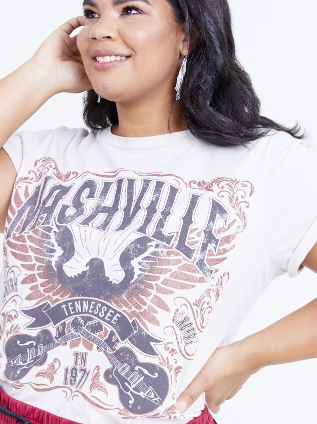 Nashville Concert Tee Detail 4 - ARULA formerly A'Beautiful Soul