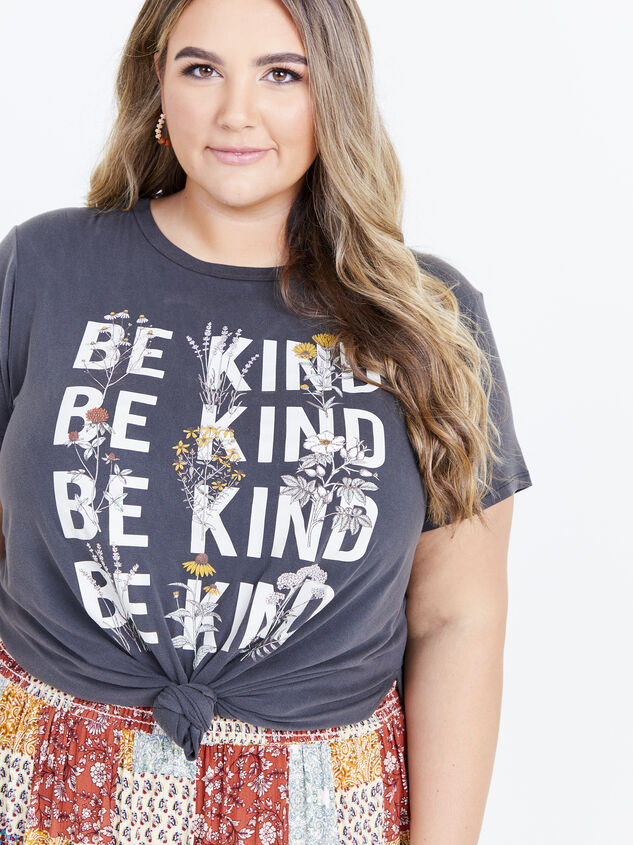 Be Kind Tee Detail 1 - ARULA formerly A'Beautiful Soul