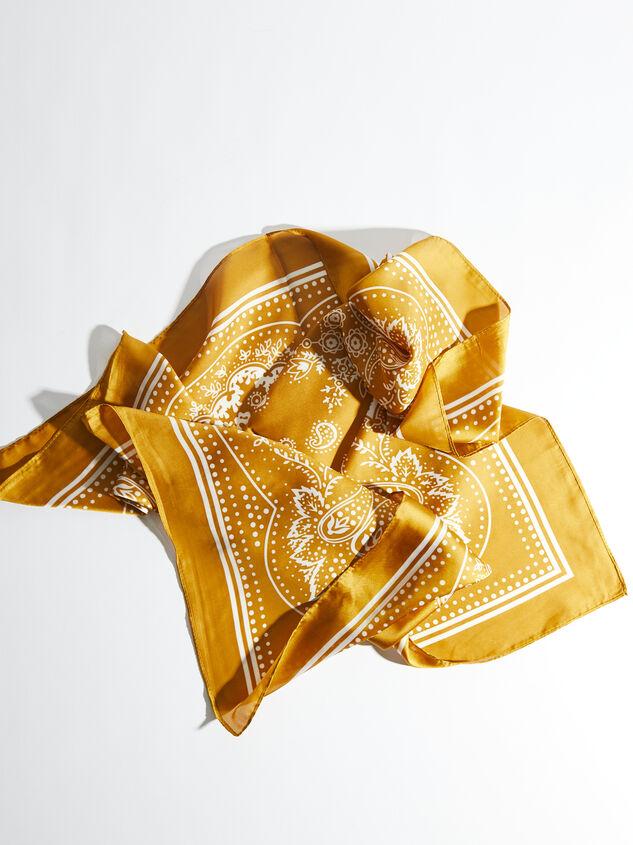 Mustard Bandana Detail 3 - ARULA