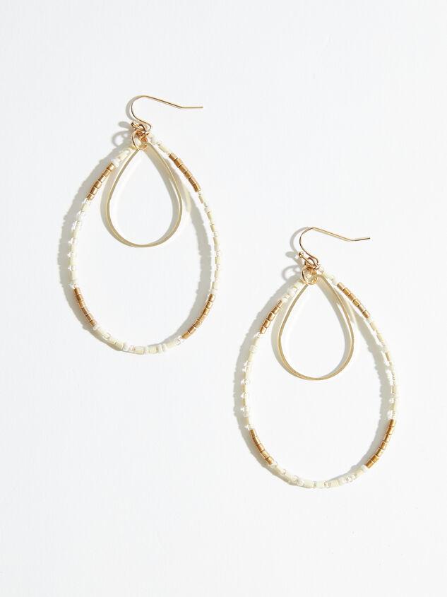Tinsley Teardrop Earrings Detail 1 - ARULA formerly A'Beautiful Soul