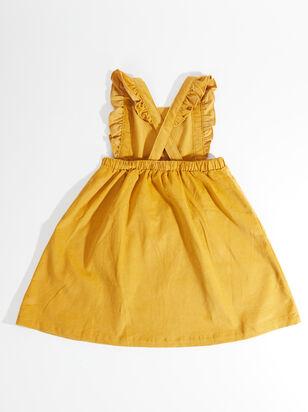 Tullabee Honey Corduroy Pinafore Dress - Toddler - ARULA