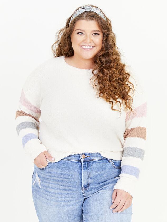 Sammie Striped Sweater - ARULA