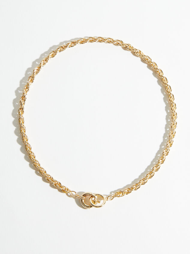 Toggle Rope Chain Necklace - ARULA