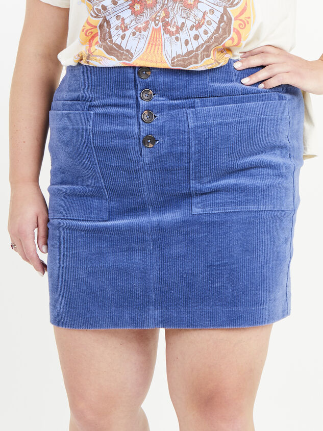Janna Corduroy Skirt Detail 2 - ARULA formerly A'Beautiful Soul