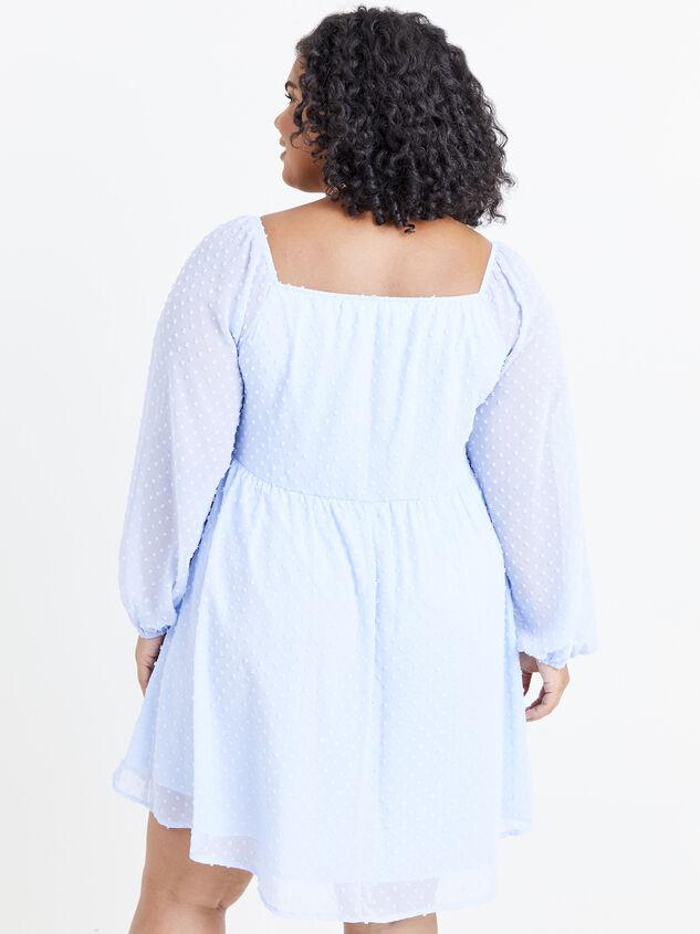 Milana Clipdot Dress Detail 3 - ARULA