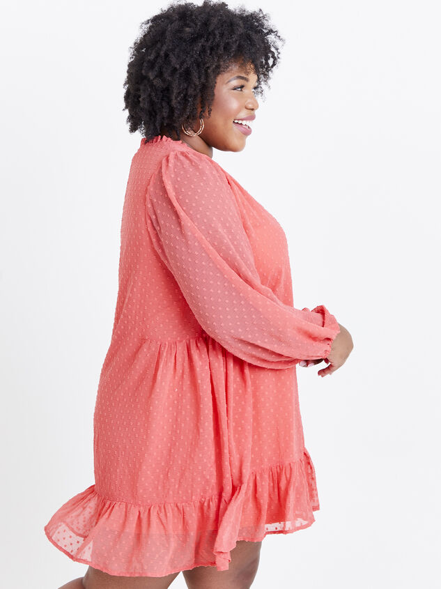 Dusty Dress - Coral Detail 2 - ARULA formerly A'Beautiful Soul