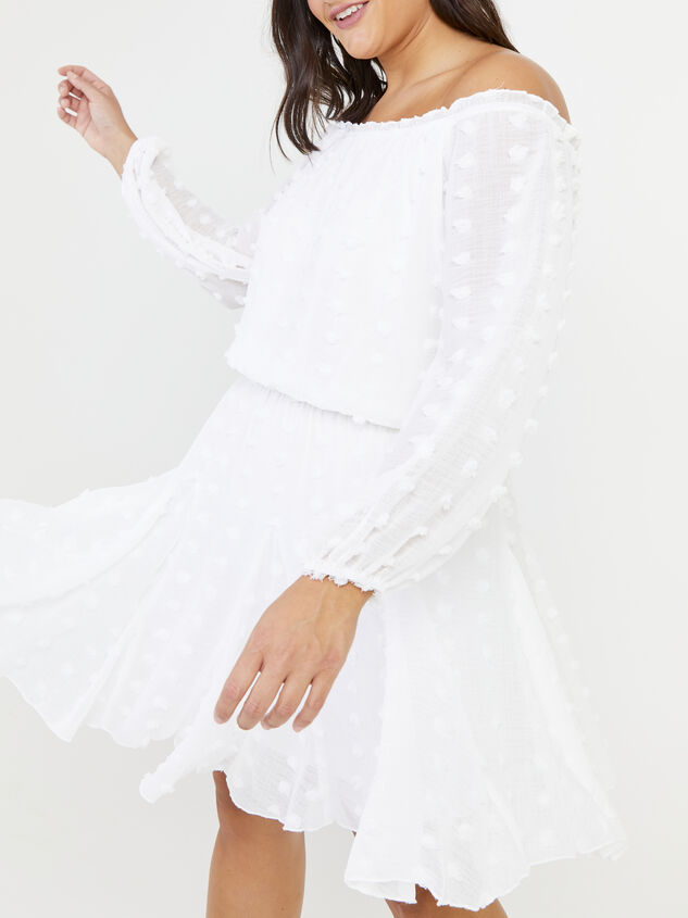 Define Dress - White Detail 4 - ARULA formerly A'Beautiful Soul