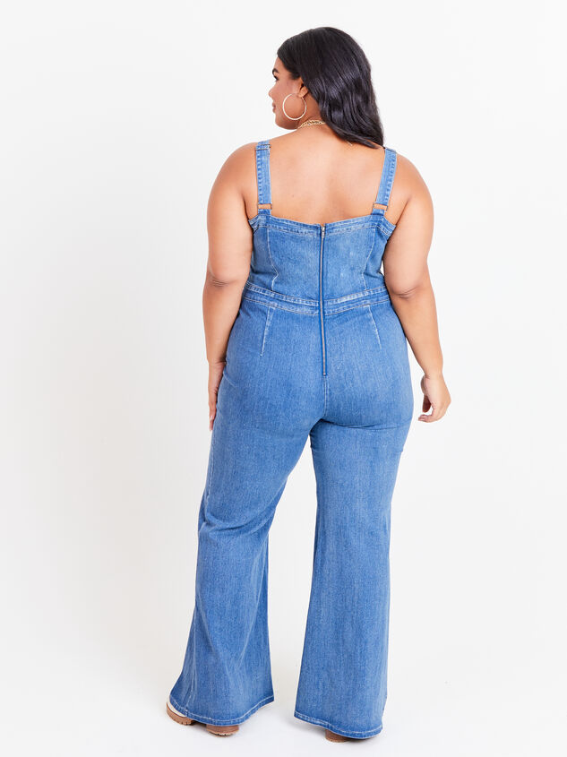 Jenna Overall Jumpsuit Detail 3 - ARULA formerly A'Beautiful Soul