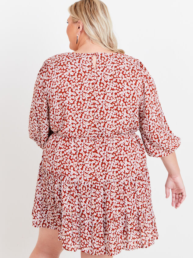Maeve Floral Dress Detail 3 - ARULA formerly A'Beautiful Soul