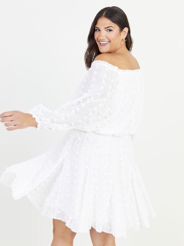 Define Dress - White Detail 3 - ARULA formerly A'Beautiful Soul