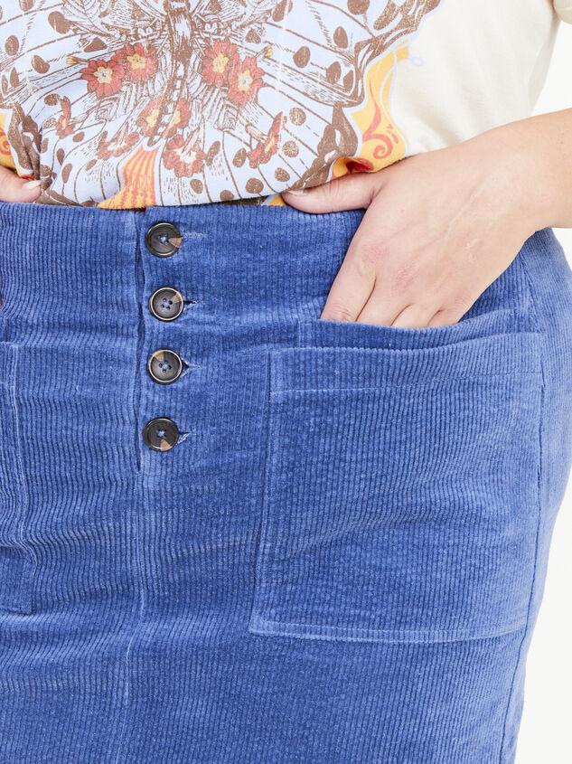 Janna Corduroy Skirt Detail 5 - ARULA formerly A'Beautiful Soul