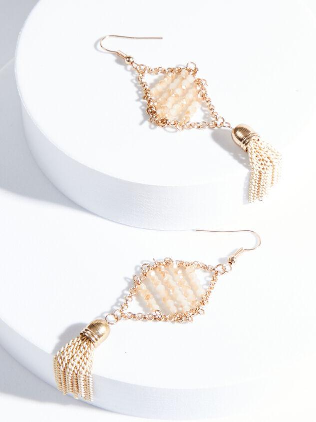 Donatella Tassel Earrings - ARULA