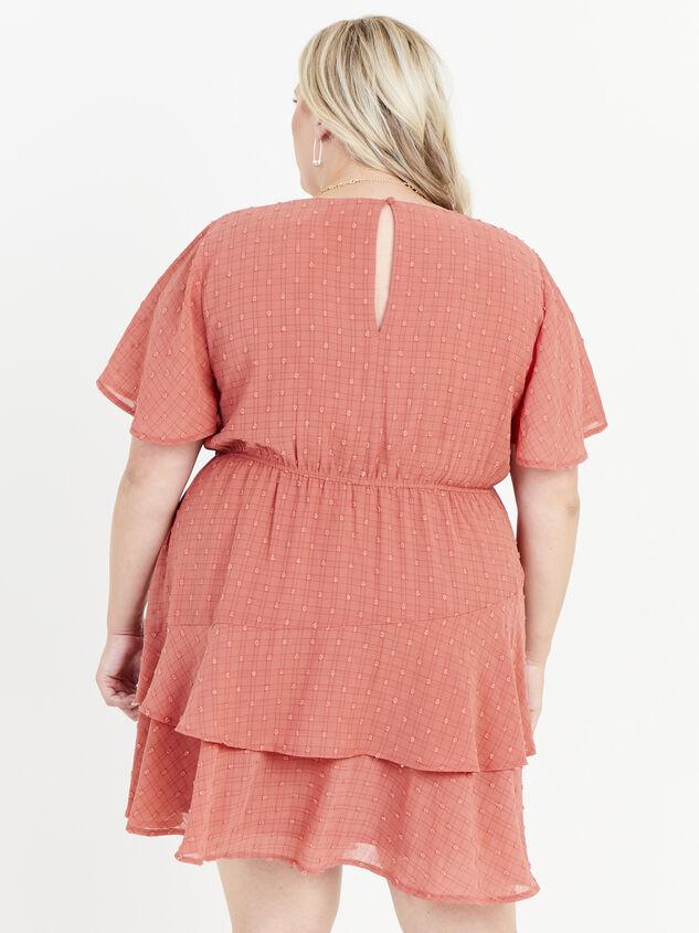 Tallulah Clipdot Dress Detail 3 - ARULA formerly A'Beautiful Soul