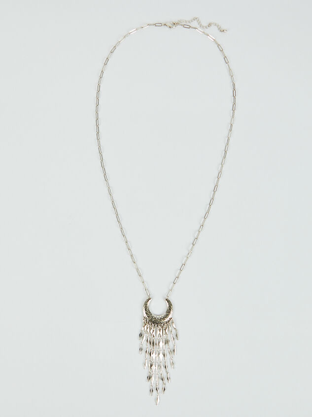 Western Crescent Necklace Detail 3 - ARULA formerly A'Beautiful Soul