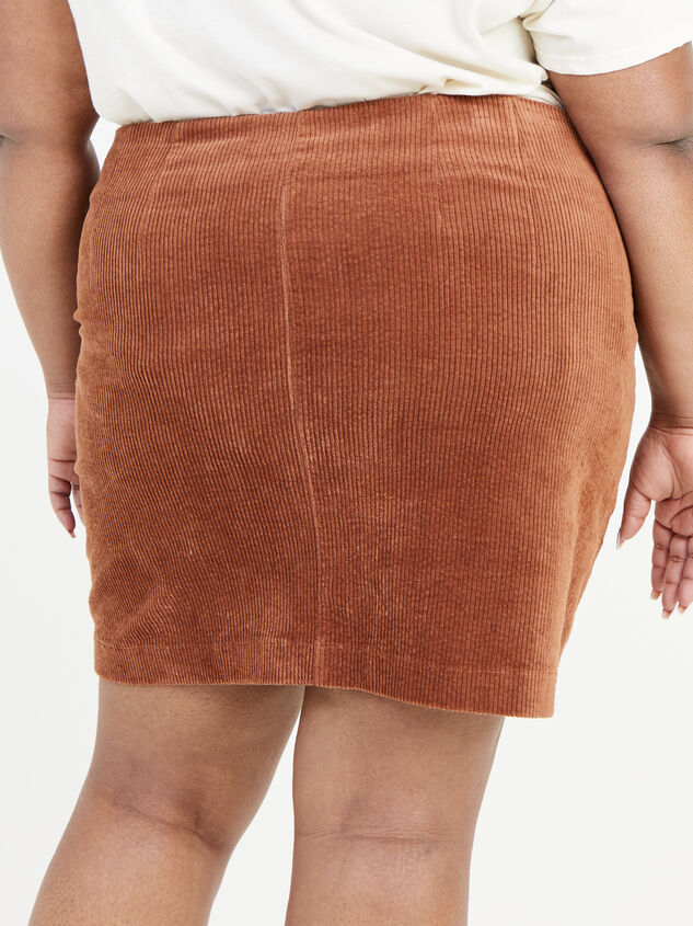 Janna Corduroy Skirt Detail 4 - ARULA