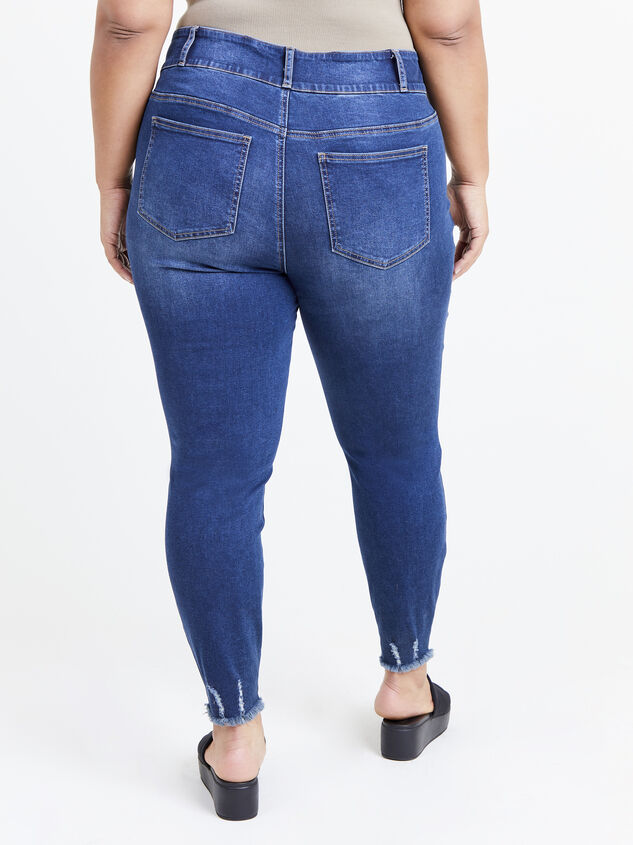 Caris Skinny Jeans Detail 4 - ARULA formerly A'Beautiful Soul