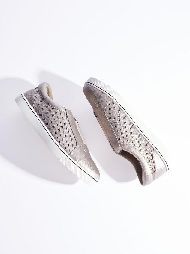 Rery Wide Width Sneakers - Gunmetal Detail 5 - ARULA