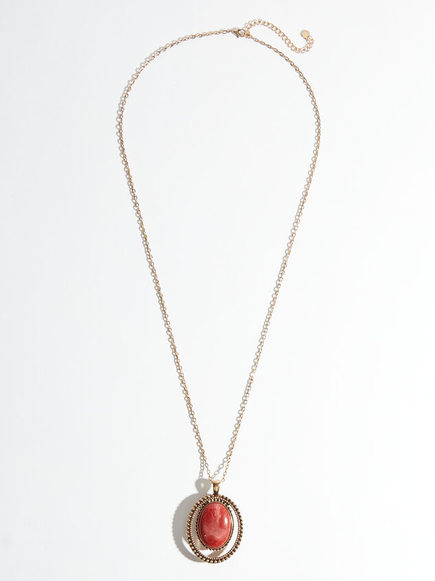 Antoinette Reversible Necklace Detail 1 - ARULA formerly A'Beautiful Soul