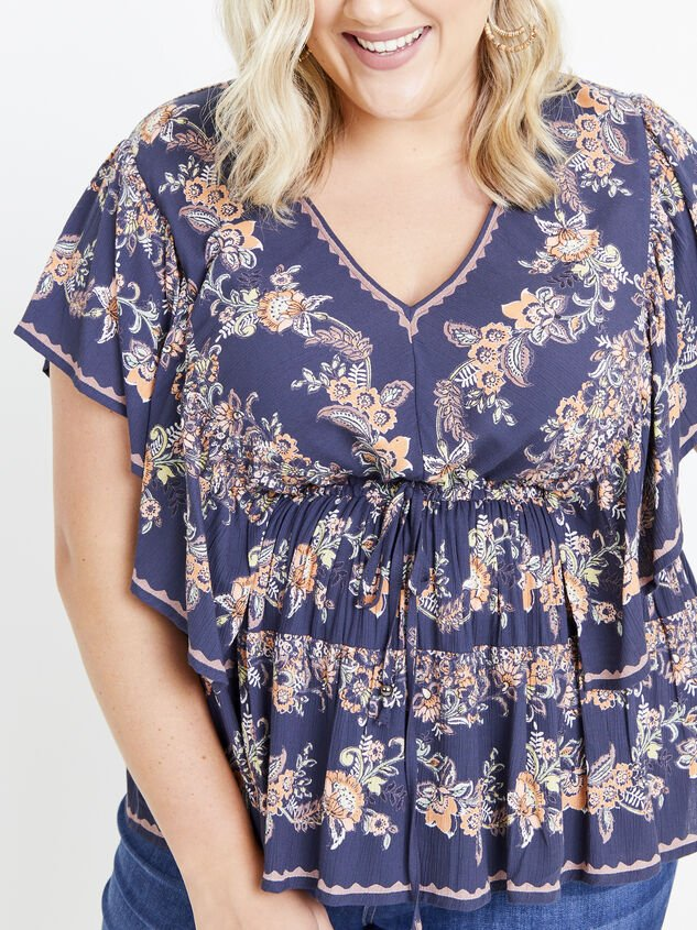 Faren Floral Top Detail 4 - ARULA formerly A'Beautiful Soul
