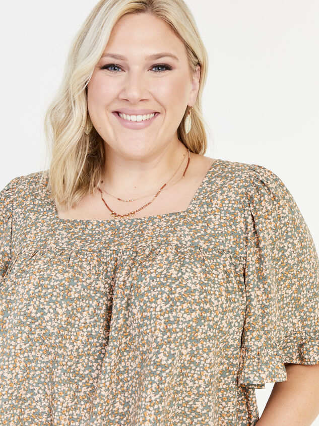 Ellis Floral Top Detail 4 - ARULA formerly A'Beautiful Soul