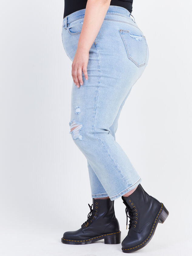 Crystal Beach Straight Jeans Detail 3 - ARULA formerly A'Beautiful Soul