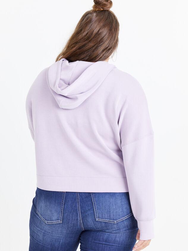 Empower Sweatshirt Detail 3 - ARULA formerly A'Beautiful Soul