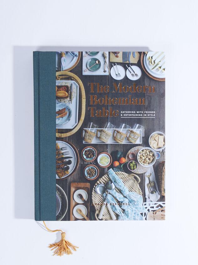 Modern Bohemian Table Book Detail 1 - ARULA formerly A'Beautiful Soul