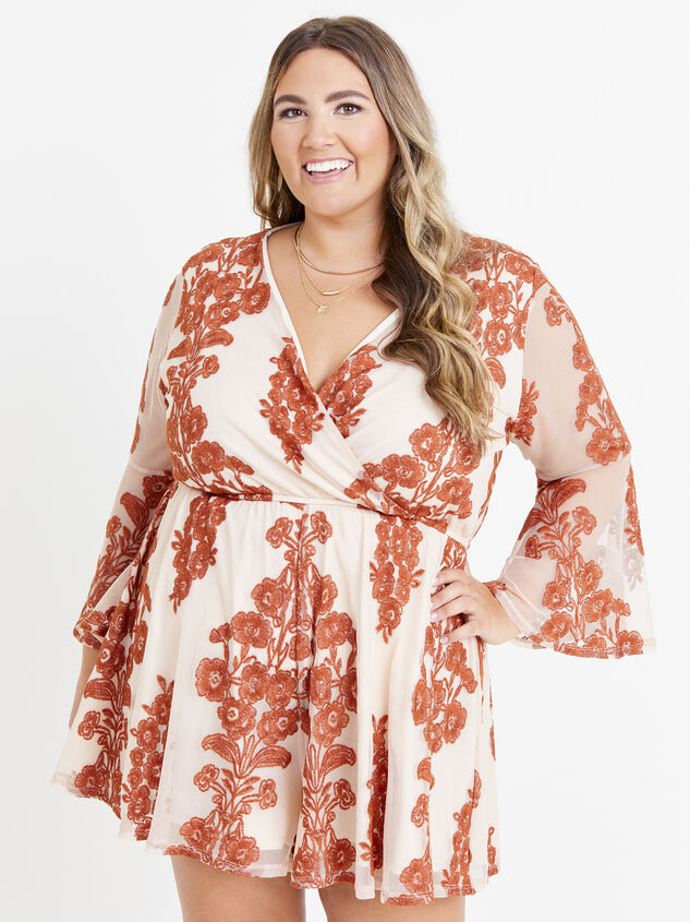 Bebe Embroidered Romper Detail 1 - ARULA formerly A'Beautiful Soul