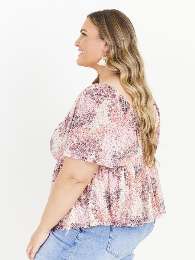 Piper Floral Top Detail 2 - ARULA formerly A'Beautiful Soul