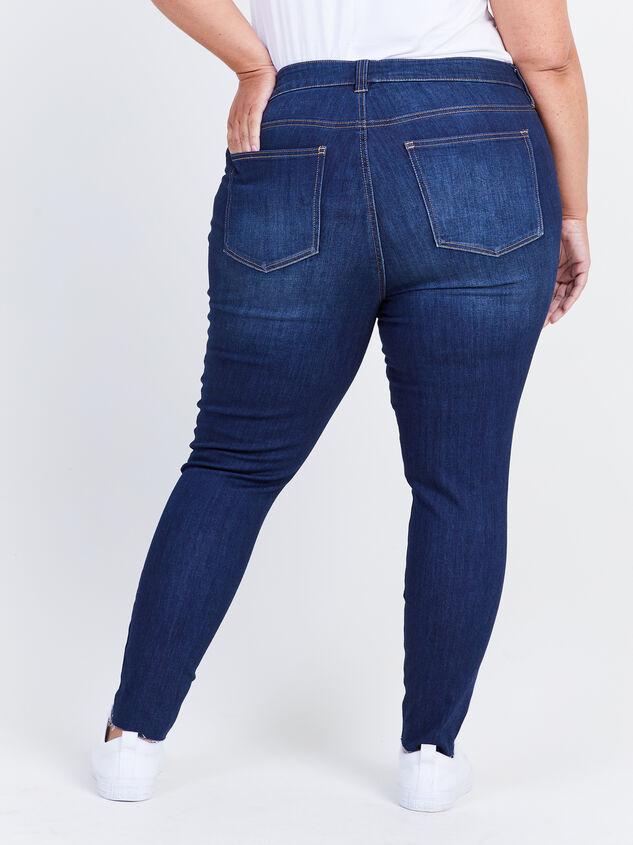 Toni Raw Hem Skinny Jeans Detail 4 - ARULA formerly A'Beautiful Soul