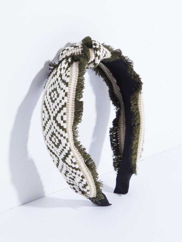 Elliana Headband - Olive Detail 1 - ARULA formerly A'Beautiful Soul