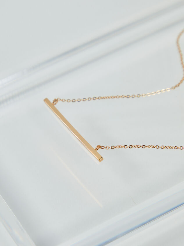 Raise The Bar Necklace - ARULA formerly A'Beautiful Soul