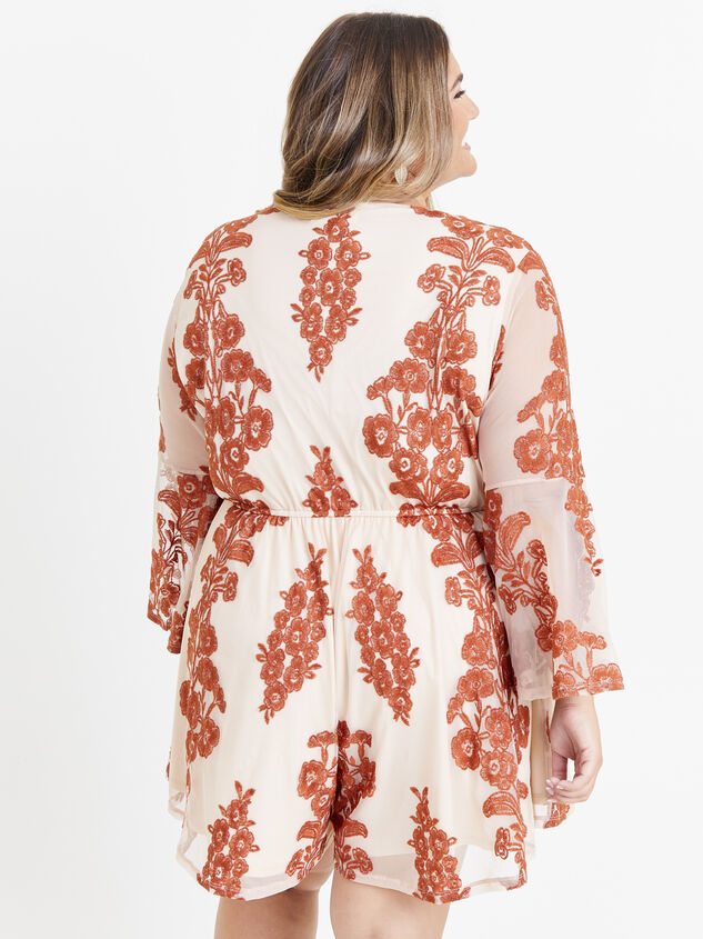 Bebe Embroidered Romper Detail 3 - ARULA formerly A'Beautiful Soul